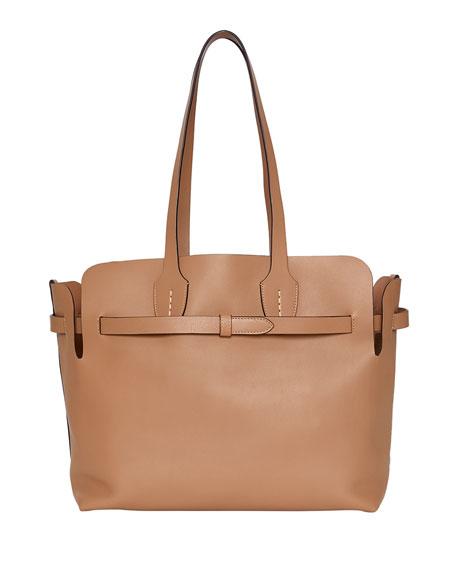 Burberry Medium Soft Belted Shoulder Tote Bag