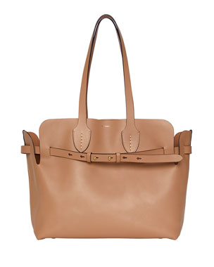 092940e48a4 Burberry Medium Soft Belted Shoulder Tote Bag