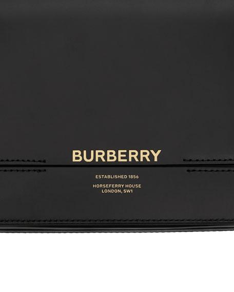 Burberry Horse Ferry Smooth Shoulder Bag