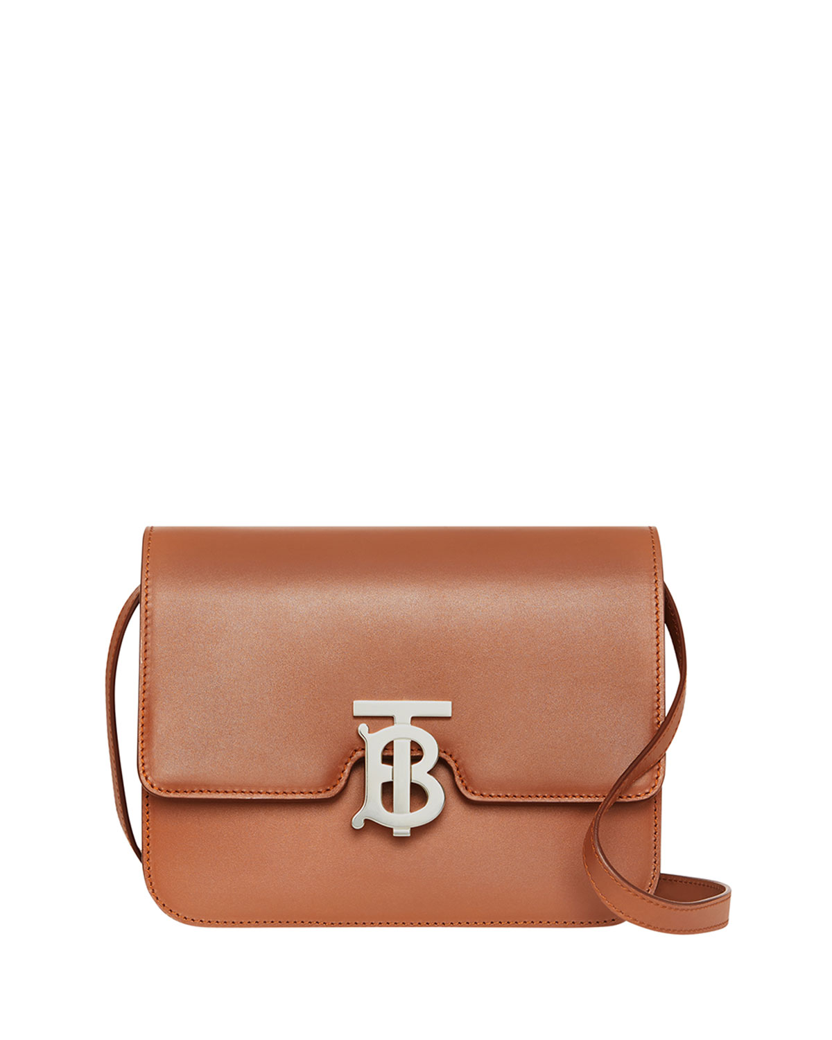 Tb Small Crossbody Bag   Silver Hardware by Burberry
