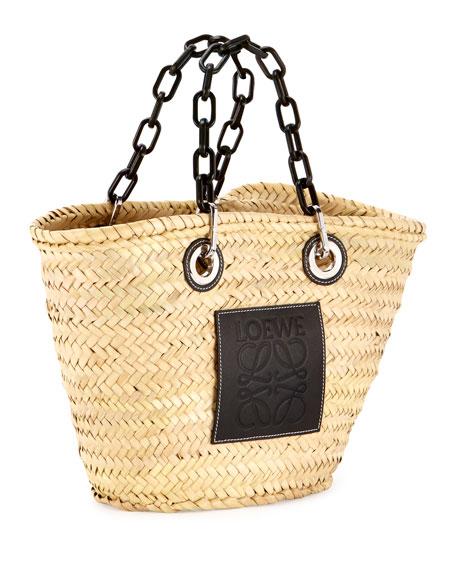 Loewe Basket Chain Tote Bag