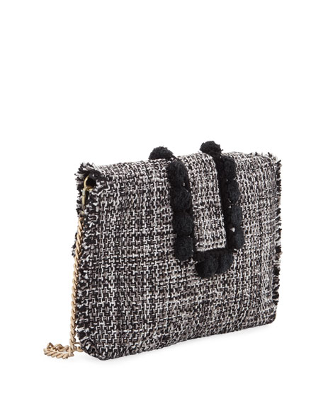 Kooreloo Tweed Pouch Clutch Bag