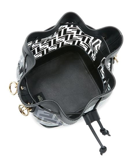 Fendi Mon Tresor Grande FF Plexi Bucket Bag