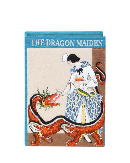 Olympia Le-Tan The Dragon Maiden Box Crossbody Bag