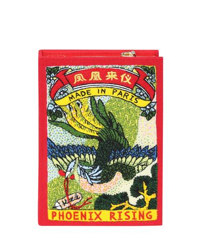 Phoenix Book Box Crossbody Bag