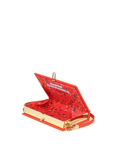Olympia Le-Tan Firecracker Mini Book Clutch Bag