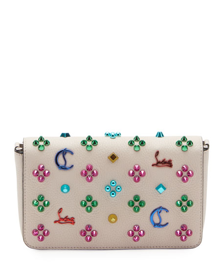 Christian Louboutin Zoompouch Calf Embellished Bag