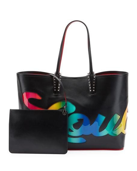 Christian Louboutin Cabata Logo Empire Tote Bag