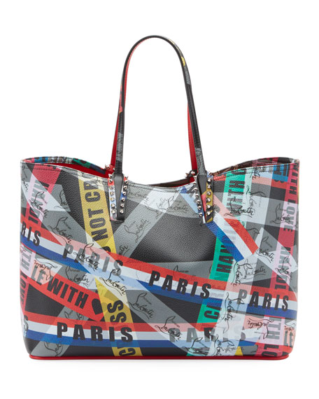 Christian Louboutin Cabata Calf LoubiBallage Tote Bag