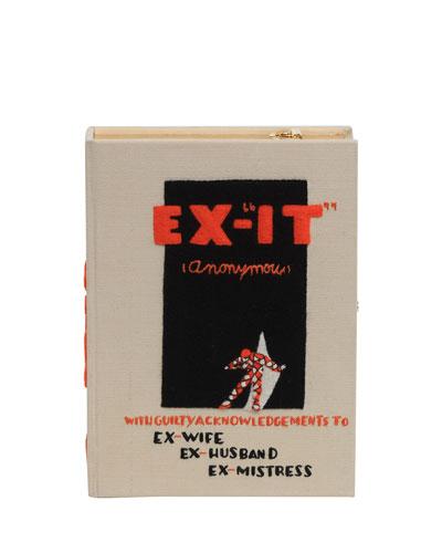 Ex-It Book Box Crossbody Bag
