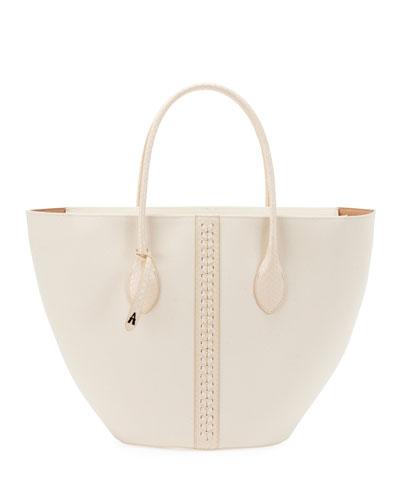 Latifa Small Canvas Tote Bag