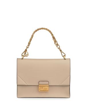 2ad237fa33a9 Fendi Kan Grace Matte Shoulder Bag