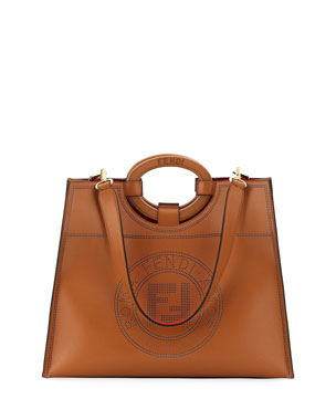 39b42ea1c8e1 Fendi Runaway Calf Liberty Tote Bag
