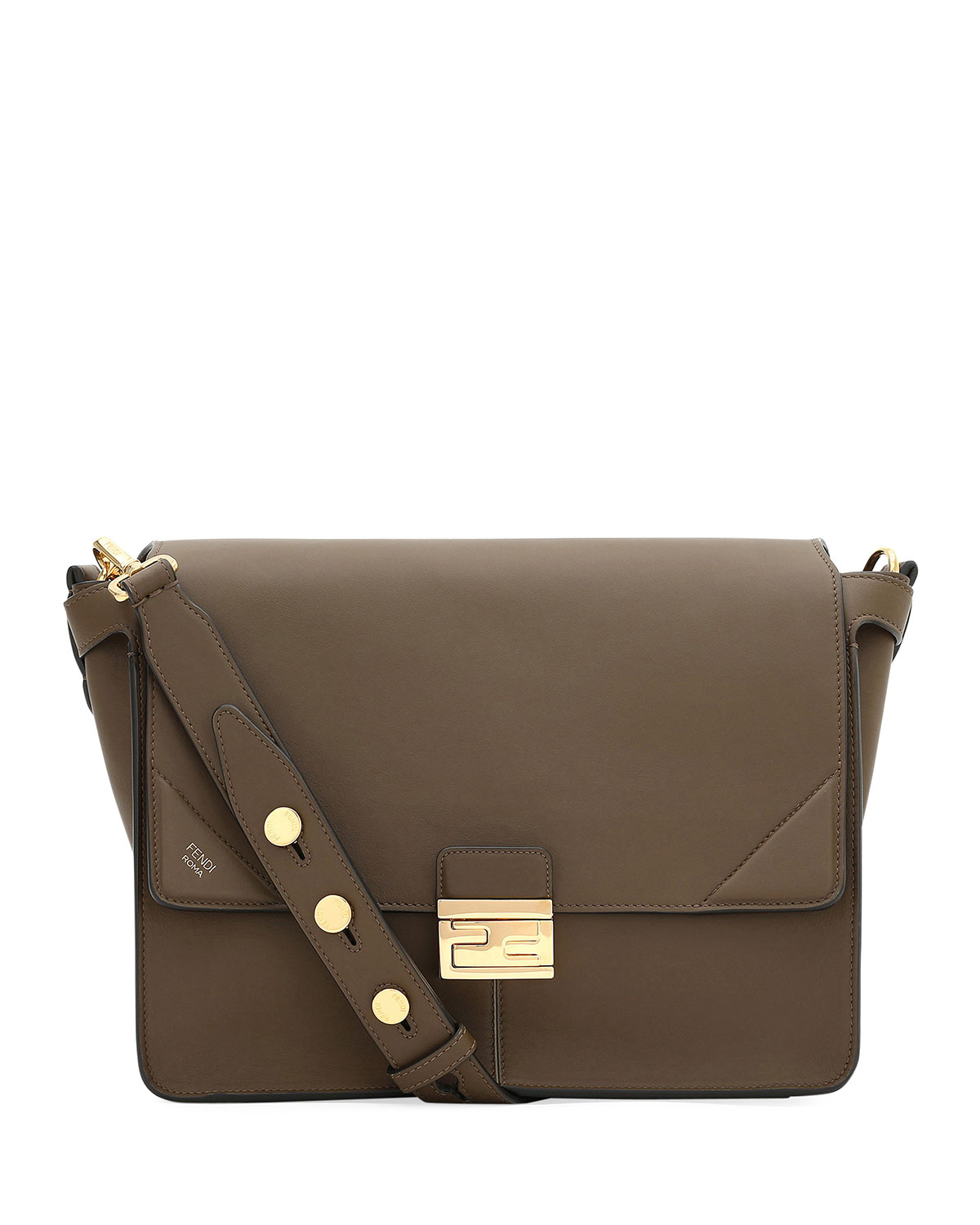 Grace Kan Calf Matte Shoulder Bag by Fendi