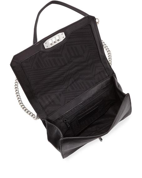 Rebecca Minkoff Chevron Quilted Love Crossbody Bag