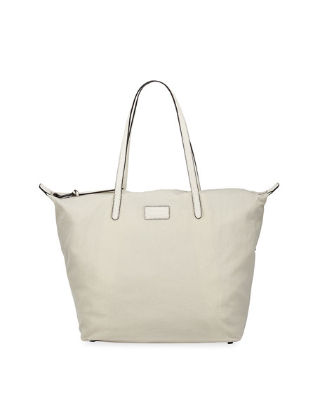 Rebecca Minkoff Washed Nylon Large Tote Bag