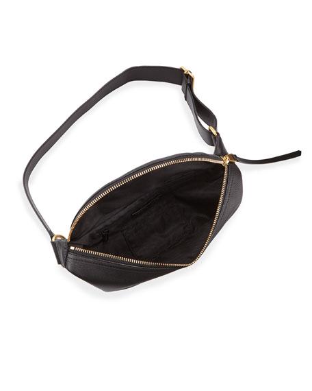 Rebecca Minkoff Bree Leather Belt Bag - Golden Hardware