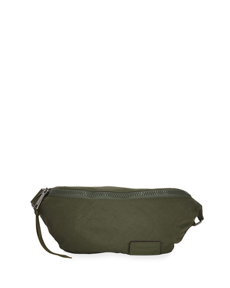 Rebecca Minkoff Nylon Zip Belt Bag, Olive