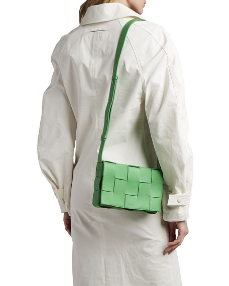 Bottega Veneta Cassette Napa Crossbody Bag