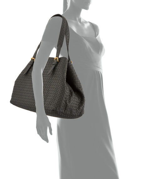 Bottega Veneta Cesta Large Woven Tote Bag