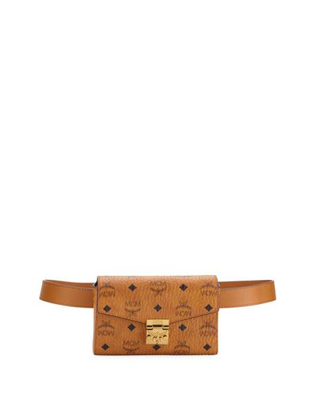MCM Patricia Visetos Small Belt Bag