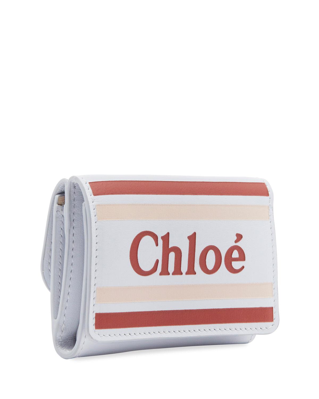 Vick Mini Tri Fold Wallet by Chloe