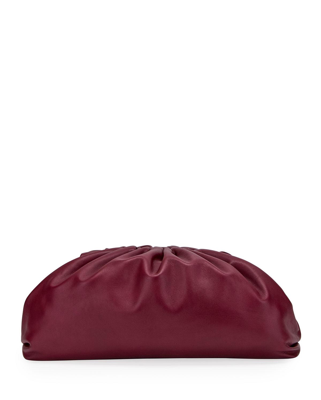 b9c43c25ac Bottega Veneta The Pouch Bag in Butter Calf Leather | Neiman Marcus