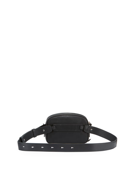 AllSaints Captain Smooth Leather Belt Bag