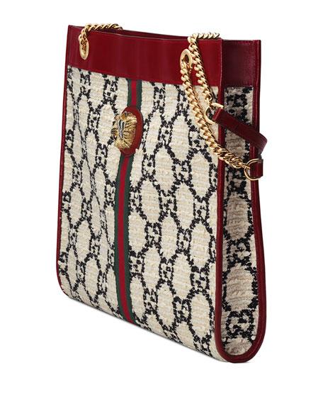 Gucci Rajah Large Tweed Tote Bag