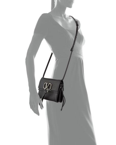 Valentino Garavani VRING Leather Crossbody Bag