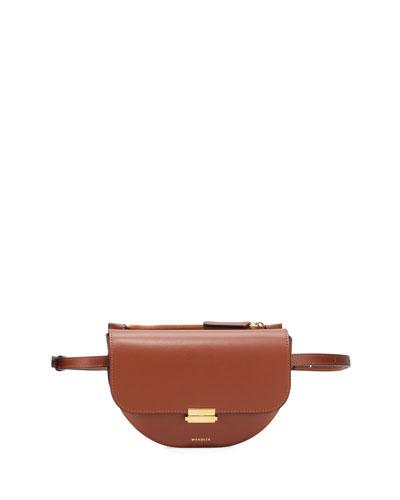 Anna Big Leather Belt Bag