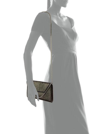 Stella McCartney Falabella Mini Shiny Wallet on Chain