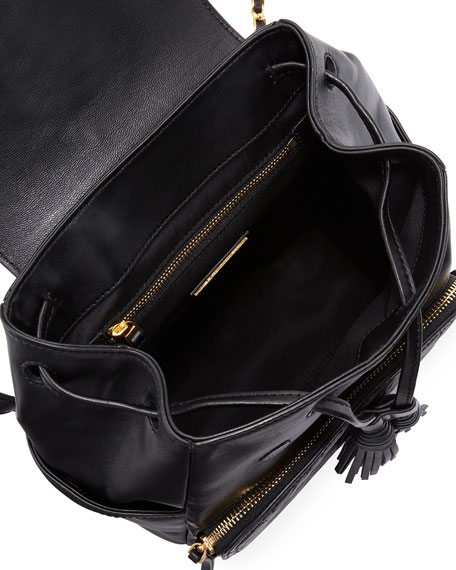 Image 2 of 3: Fleming Leather Backpack