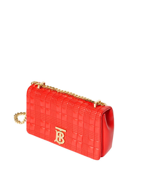 Burberry TB Soft Quilted Crossbody Bag