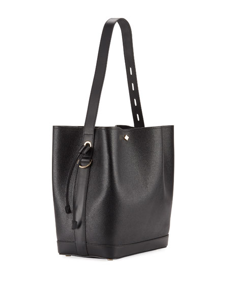 Image 3 of 4: MCM Milano Medium Goat Drawstring Shoulder Bag