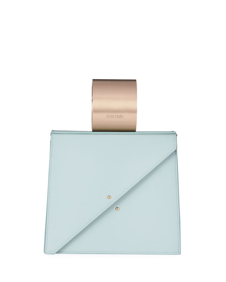 Image 1 of 4: D'Estree Ettore Smooth Top Handle Bag