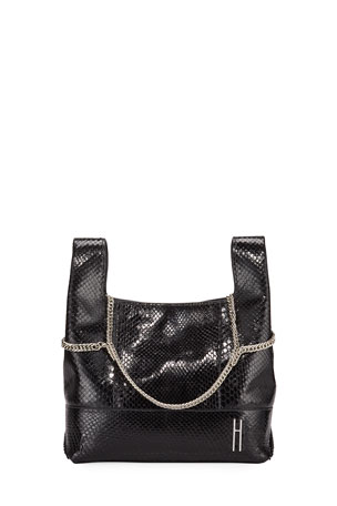 Hayward Large Chain Bag in Python