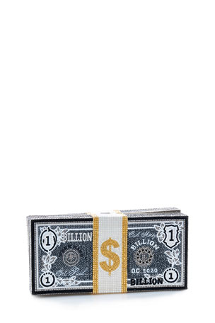 Judith Leiber Couture Stack Of Cash Billions Clutch Bag