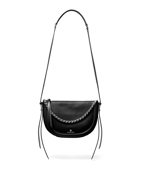 Image 1 of 4: Jagger Small Zip Crossbody Bag