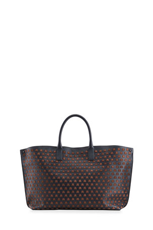 Akris AI Medium Trapezoid Tote Bag
