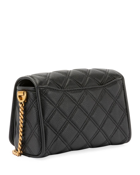 Image 3 of 3: Quilted Medallion Crossbody Bag