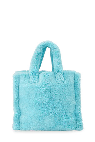 STAND Teddy Faux-Fur Medium Tote Bag