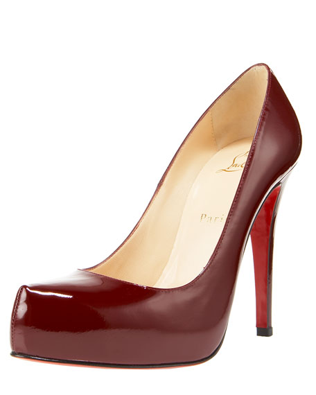 Rolando Hidden-Platform Pump, Patent Leather