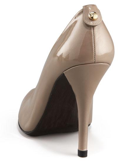 Patent Peep-Toe Pump