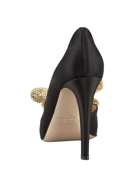 Valentino Jewelry-Bow Couture d'Orsay
