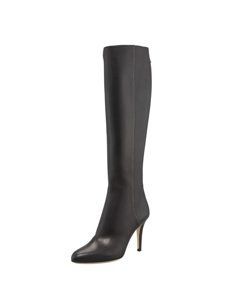 Jimmy Choo Grand Leather Boot, Black