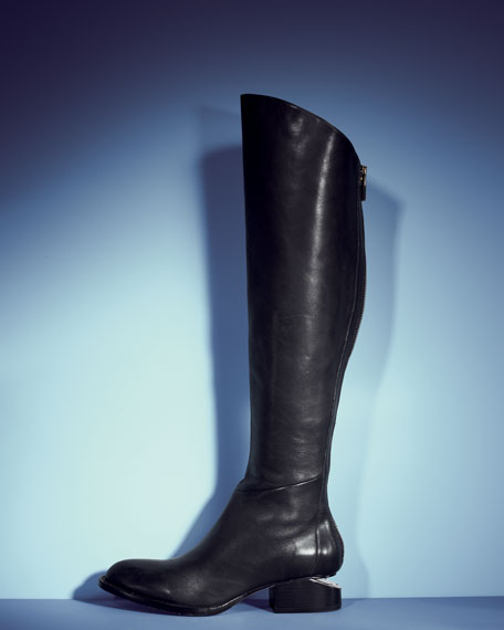 SIGRID BACKZIP KNEE BOOT
