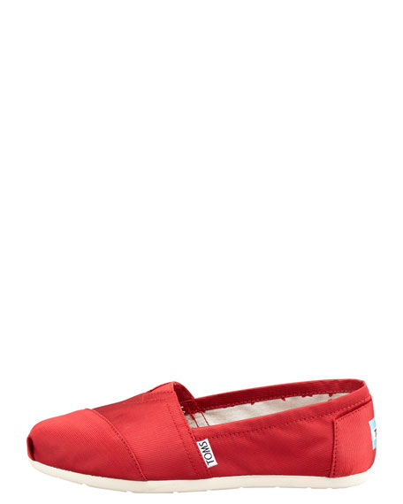 Rowan Grosgrain Slip-On, Red
