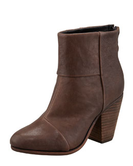 Rag & Bone Classic Newbury Leather Bootie, Brown