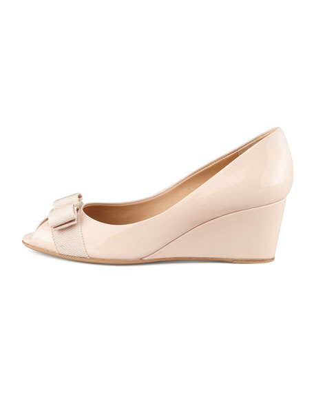 3ee1e33e366e Salvatore Ferragamo Mid-Wedge Pump